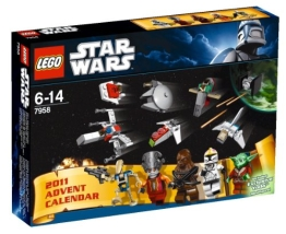 Lego Star Wars  Adventskalender 2011 (7958)