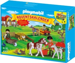 PLAYMOBIL Adventskalender 2012 Reiterhof (4167)