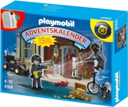 PLAYMOBIL Adventskalender 2012 Polizeialarm - 4168