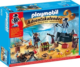 PLAYMOBIL Adventskalender 2015 Geheimnisvolle Piratenschatzinsel 6625