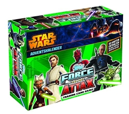 Force Attax Clone Wars Adventkalender 2014