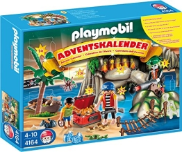 PLAYMOBIL Adventskalender 2011 Piraten-Schatzhöhle (4164)