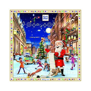 Ritter Sport Adventskalender Mini, (400g)