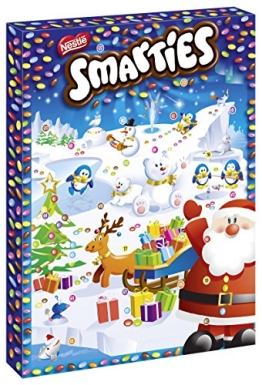 Smarties Adventskalender, (140g)