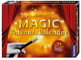 Kosmos Zauberei 698782 - Magic Adventskalender 2016 -