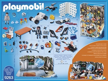 "Playmobil 9263 - Adventskalender ""Spy Team Werkstatt"" -"